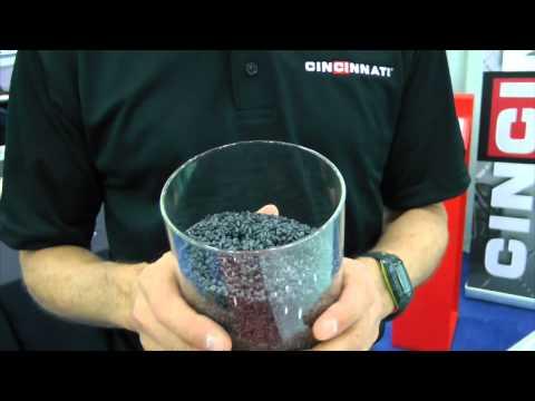 Cincinnati Inc., display of BAAM 3D printing at IBEX 2015