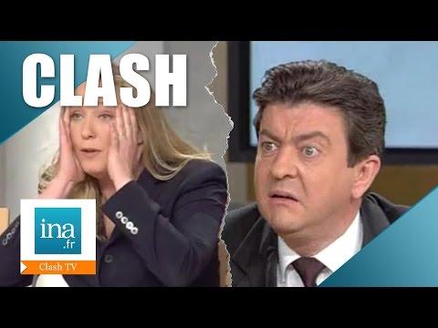 Clash Jean-Luc Mélenchon / Marine Le Pen en 2002 | Archive INA