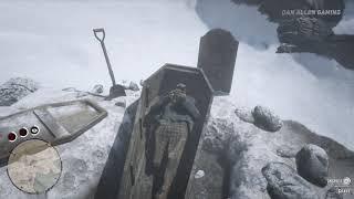Red Dead Redemption 2 - Defaced Mystery Grave - Easter Egg #61 ( RDR2 Secrets & References )