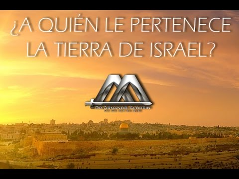a quien le pertenece la tierra de israel no 3 youtube