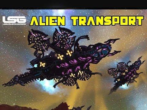 Space Engineers - Alien Zanbur Transport