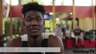 DeAndre Ayton and Udoka Azubuike: Nike Hoop Summit World Practice