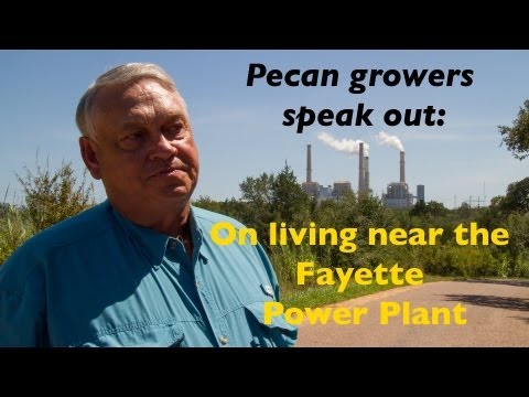 Pecan Growers Living with Austin/LCRA Fayette Power Plant