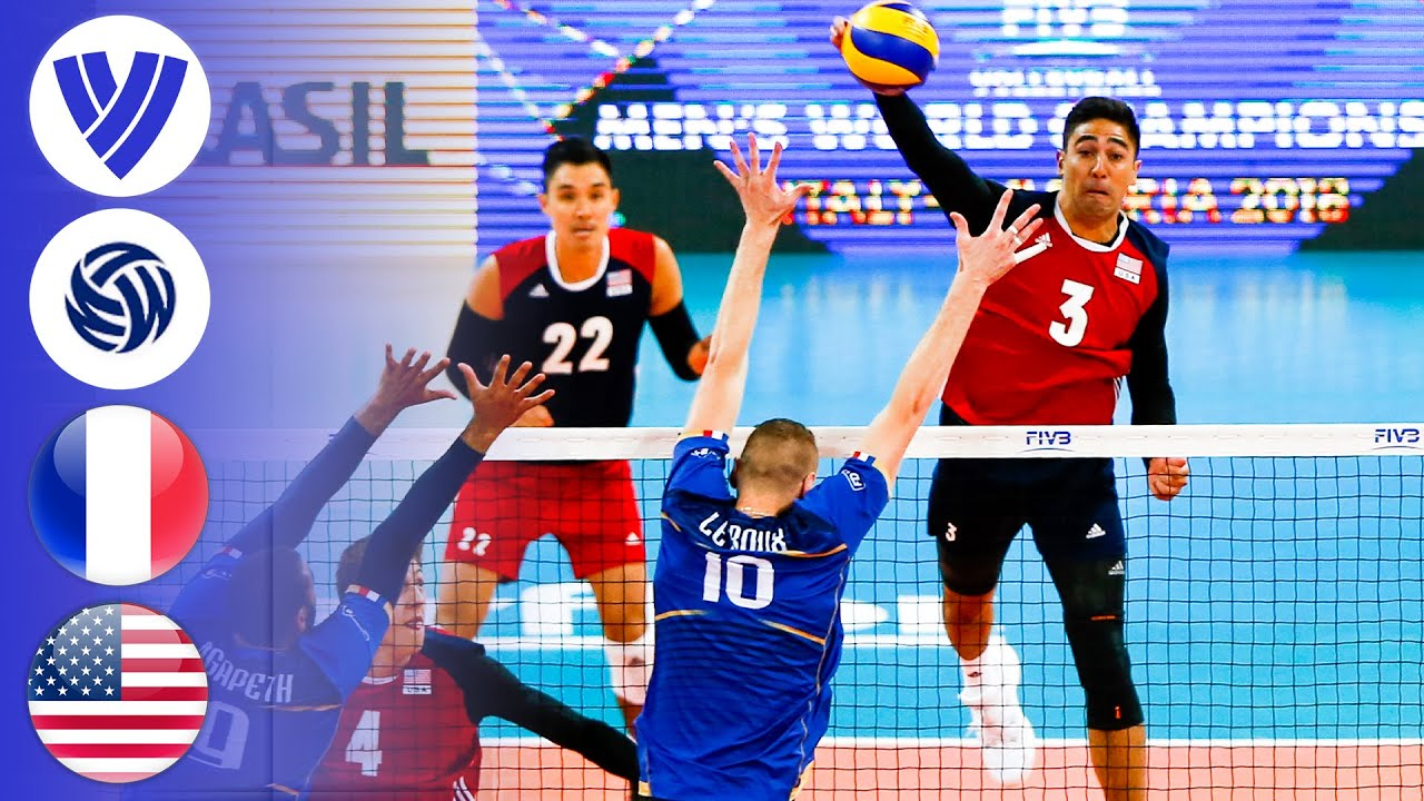 France vs. USA - Full Match | Group 1 | Men's Volleyball World League 2017