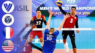 France vs. USA - Full Match | Group 1 | Men's Volleyball World League 2017