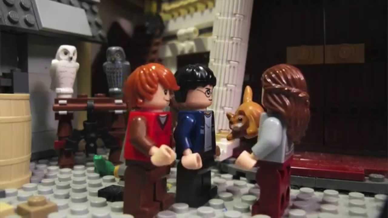 lego harry potter - babysitting crookshanks