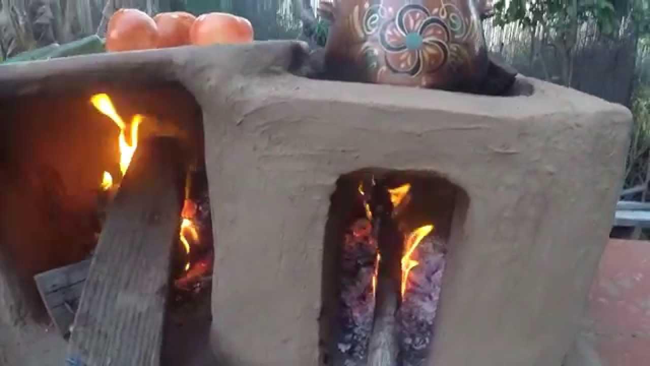 Estufa rustica youtube for Fogones rusticos en ladrillo