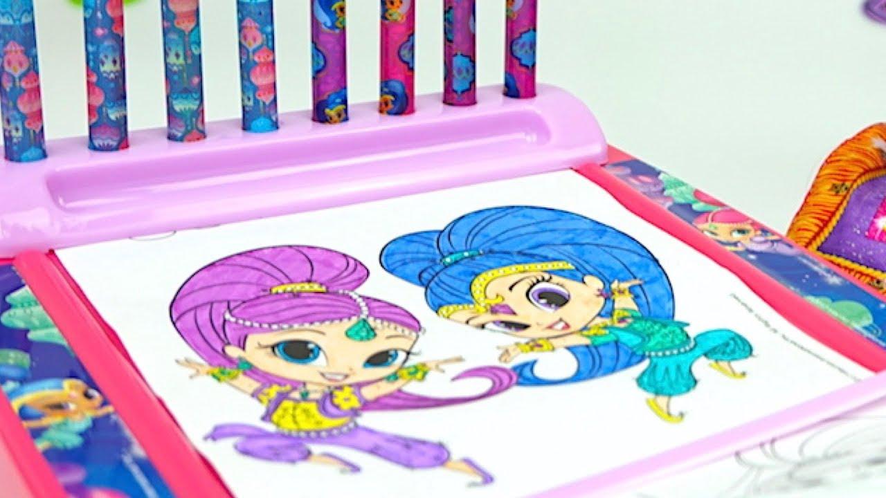 шиммер и шайн раскраски игрушки и сюрпризы