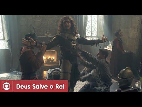 Deus Salve O Rei: capítulo 43 da novela, terça, 27 de fevereiro, na Globo