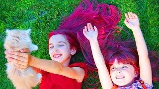 Златка міняється на 1 тиждень Пінкі Пай! Як пофарбувати волосся за 5 хвилин тимчасовою фарбою