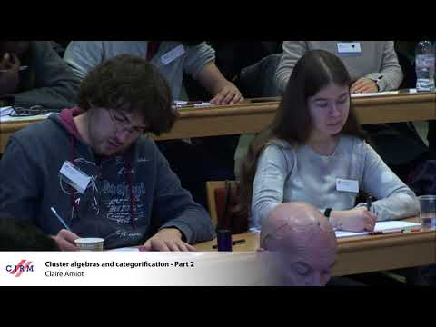 Claire Amiot: Cluster algebras and categorification - Part 2