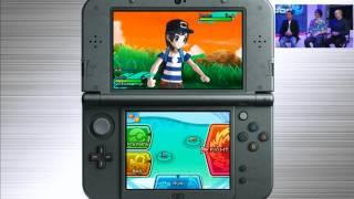 Pokemon Sun and Moon Gameplay Nintendo E3 2016