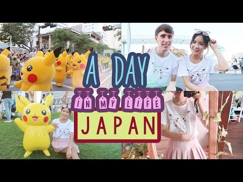 Day in my Life in JAPAN | Shopping & Pikachu Festival | YOKOHAMA