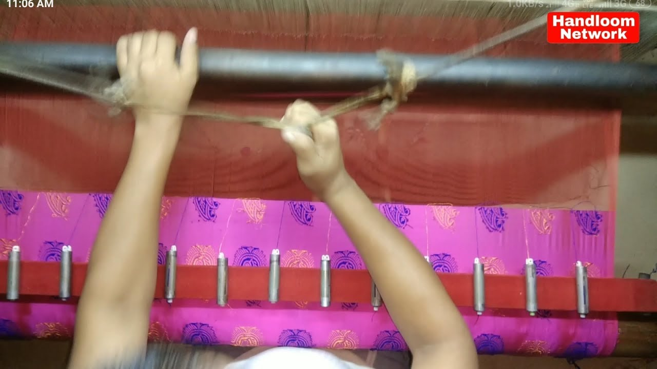 Handloom Buta Machine Part 9