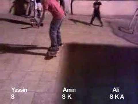 local Game of S.K.A.T.E Ali-Amin-Yassin