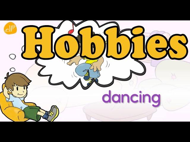 Learn Hobby Phrases Hobby And Hobbies Likes Vocabulary