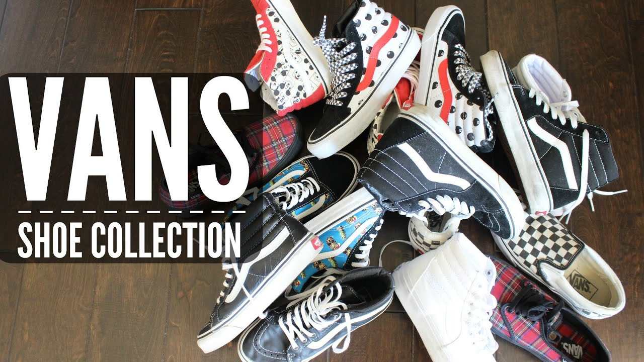 vans shoe collection christinawhy youtube