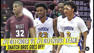 #1 DEFENDER VS #1 DEFENSIVE TEAM! SHADOW MOUNTAIN & EJ LIDDELL GOES AT IT!