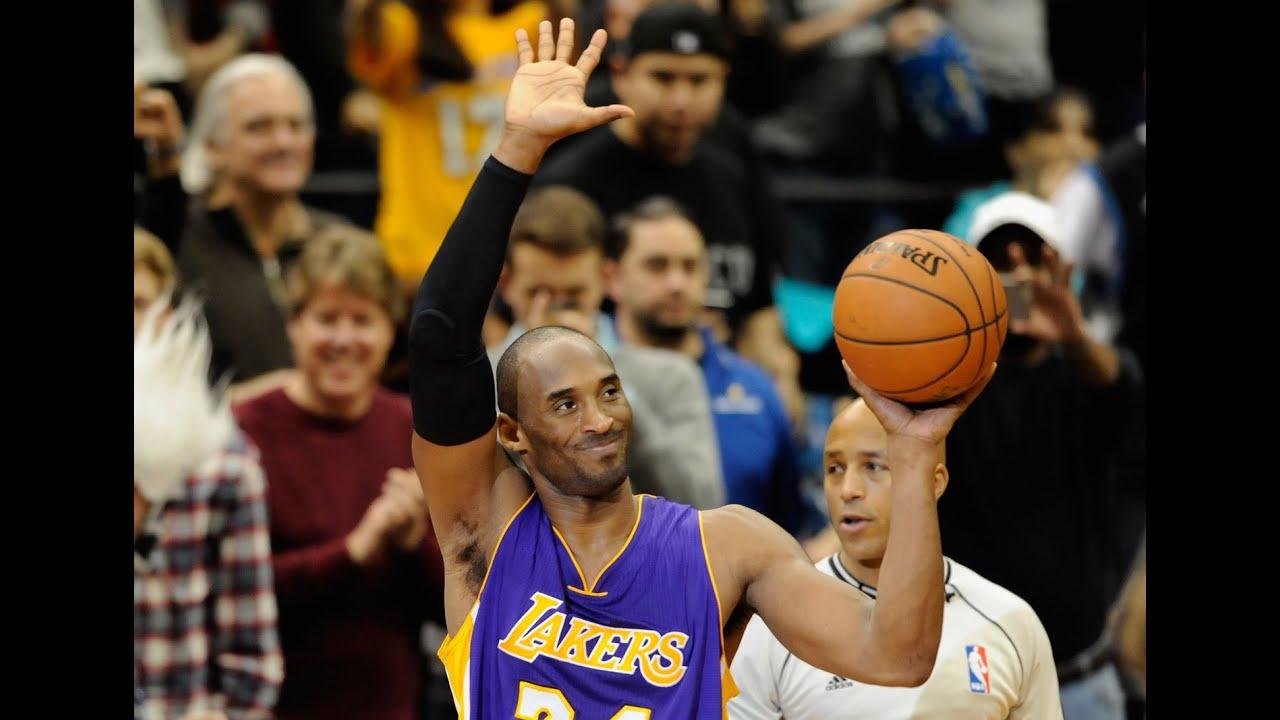 super popular 50732 1f447 Kobe Bryant Passes Michael Jordan on All-Time Scoring List!