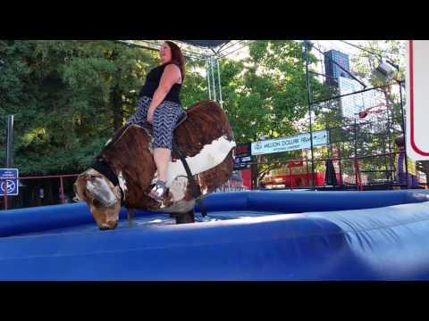 Bull riding fail: California State Fair