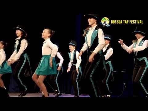 """Ostanin Dance Centre"" at Odessa Tap Festival 2016 Odessa, Ukraine"