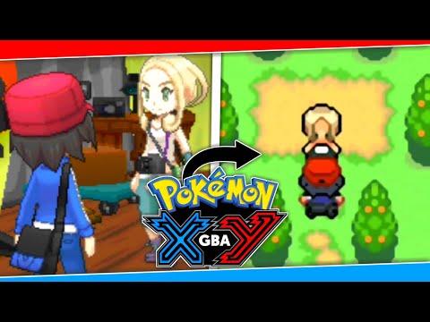 Pokemon XY GBA Update | Pokemon GBA ROM Hack With Kalos Region & Mega Evolution | Pokemon Fire XY