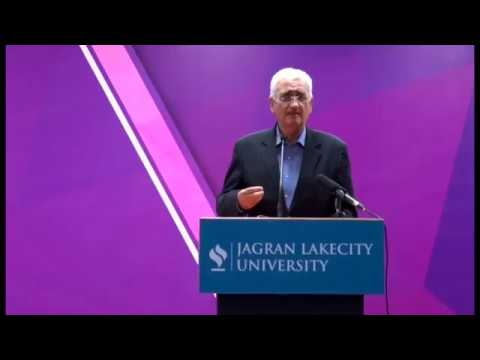 2017 Commencement Lecture by Shri Salman Khurshid