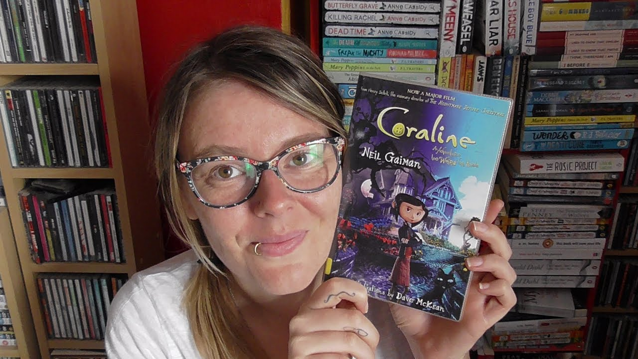 Book Review Coraline By Neil Gaiman Youtube
