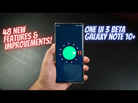 Galaxy Note 10+ One UI 3.0 - 48 NEW Features and Improvements!