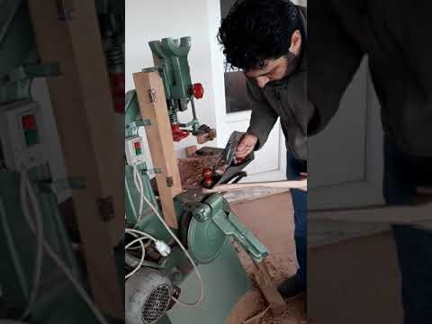 How to make a DIY wooden airplane propeller for decorative purpose. (Dekor amacıyla ahsap pervane)