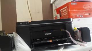 Canon E414 E484 Bitmeyen Kartuş Sistemli Yazıcılara Tank Takılması Bitmyen Kartuş Sistemi