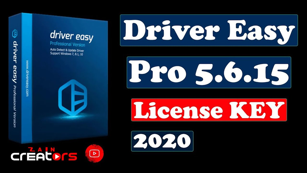 Driver Easy Pro 5 6 15 license Serial Key 2020 100% ...