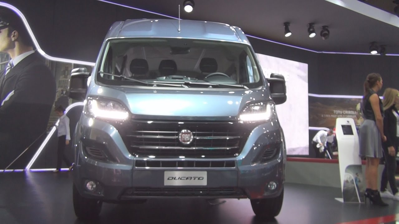 fiat ducato combi shuttle l3h2 2 3 ecojet 150hp scr 2017 exterior and interior in 3d youtube. Black Bedroom Furniture Sets. Home Design Ideas