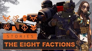 The Division 2 | Story/Lore | The Eight Factions Of Washington D.C.