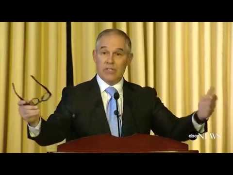 Scott Pruitt Full Speech to EPA Staff | ABC News