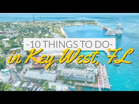 10 Things to do in Key West, FL