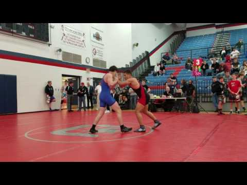 Aaron Morton 160 Indian Valley High School FS/GR Qualifier Match #2 (Greco)
