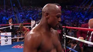 Floyd Mayweather vs Andre Berto  🇺🇸 September 12, 2015 MGM Grand, Las Vegas, Nevada, USA
