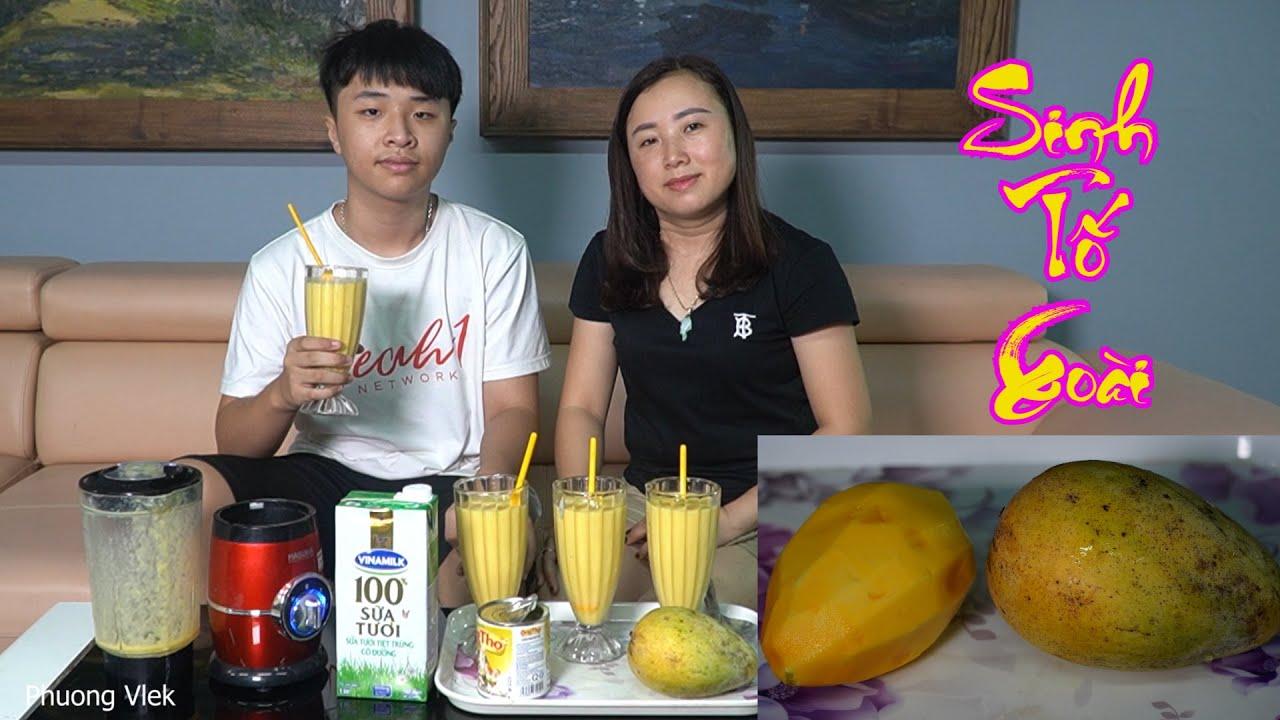 Phuong Vlek – Xay Sinh Tố Xoài Vừa Ngon Vừa Đơn Giản Tại Nhà