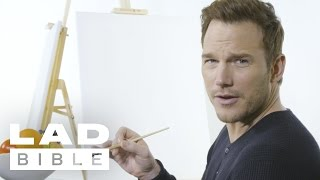 Chris Pratt And Dave Bautista From 'Guardians Of The Galaxy Vol. 2' Paint Each Other's Portrait