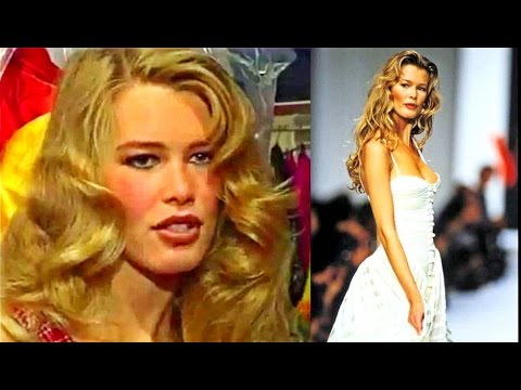 Supermodel Claudia Schiffer - Interview  (1991)