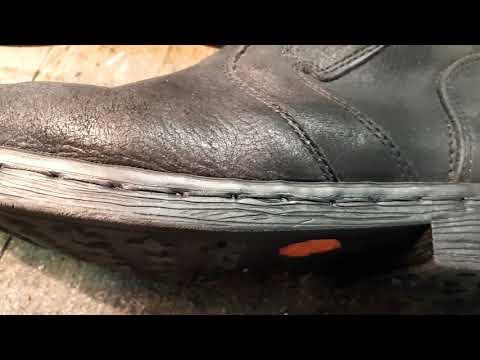 Ремонт обуви.Вновь переделки.Самая простая работа.