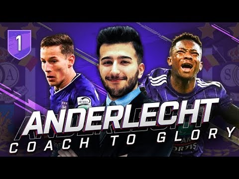 FIFA 19 RSC ANDERLECHT CAREER MODE CTG 1 - A NEW STORY BEGINS HERE