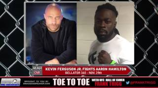 Bellator 165's Kevin Ferguson Jr: 'I'm just going to go in there and do what I was trained to do'