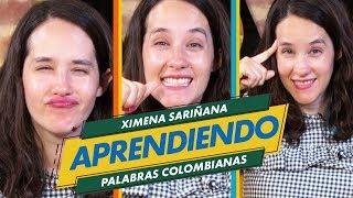 Aprendiendo Palabras Colombianas con Ximena Sariñana