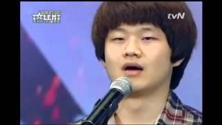 Korea má talent - týpek s těžkým životem
