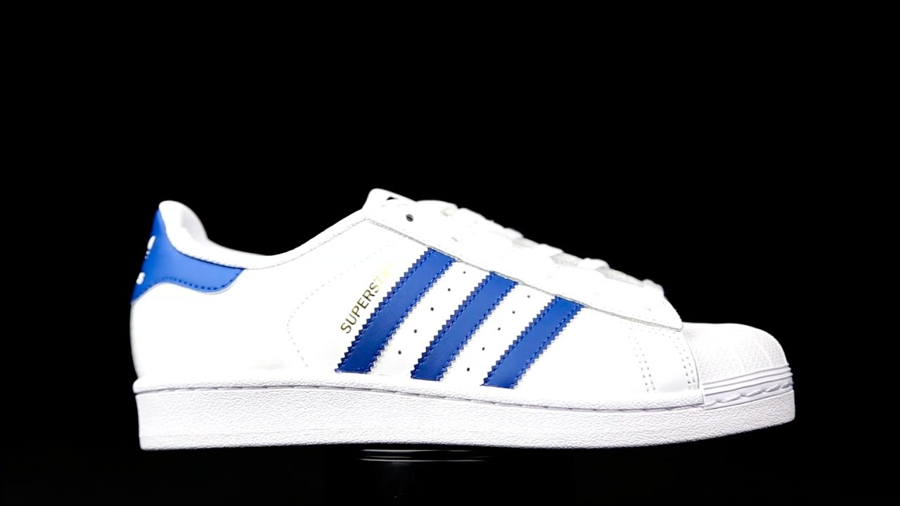 adidas superstars azul