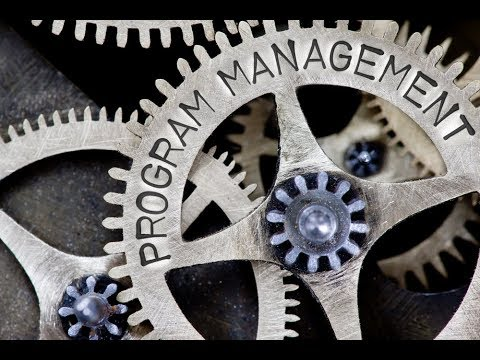 Introduction to Programme Management webinar, 23 February 2017