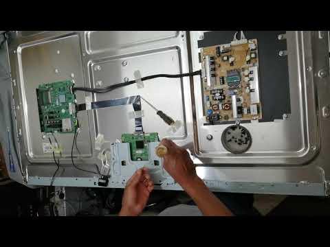 SAMSUNG SMART TV LED UE55ES6300SXZF PANEL LTJ550HW08 C PROBLEM IMAGE