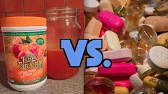 Liquid Supplements vs. Vitamin Capsules/Tablets